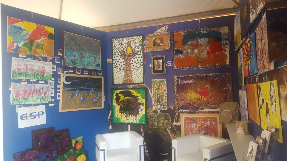 Esposizione opere ospiti Fiera Biennale di Lugo